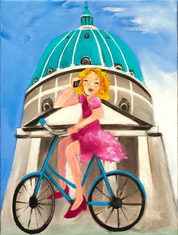 Sensationelle på cykel EH85